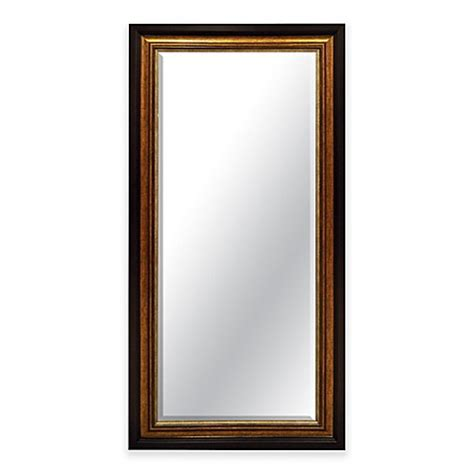 24 inch x 58 inch leaner mirror in bronze bed bath beyond