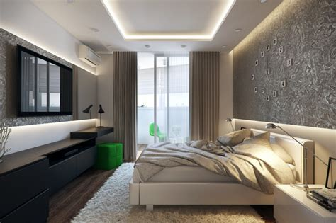 white green black bedroom interior design ideas