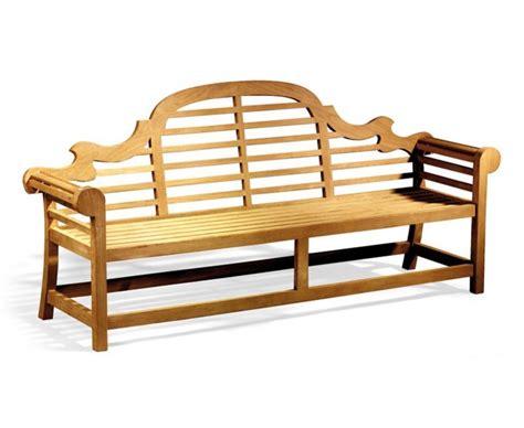 lutyens benches teak lutyens bench 2 25m