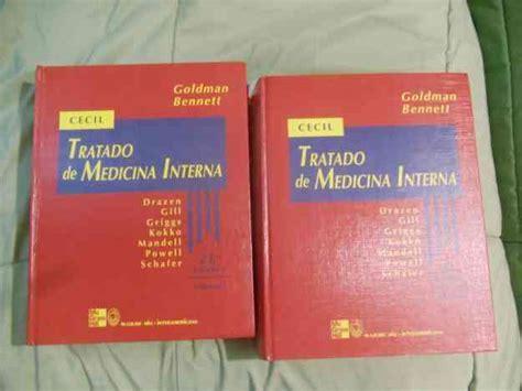 libro medicina interna libro tratado de medicina interna cecil edicion 21