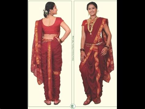 Different Saree Draping Easy Mastani Saree Cutting And Stitching With English