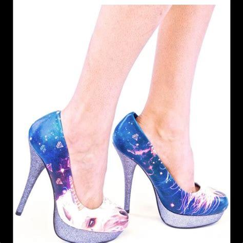 unicorn high heels iron shoes iron unicorn heels poshmark