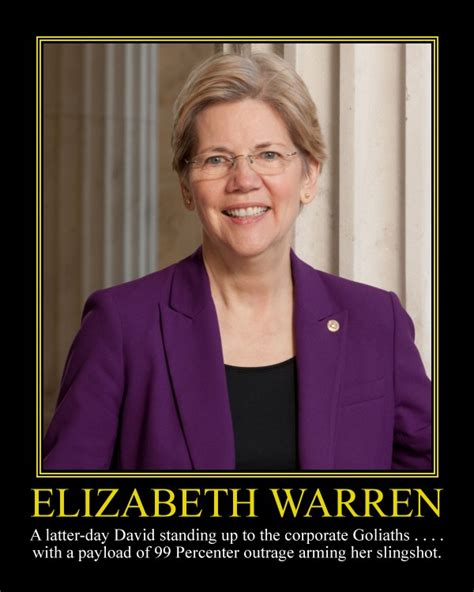 Elizabeth Warren Memes - elizabeth warren motivational poster by davinci41 on
