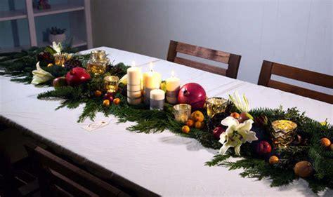 decoracion de mesa de navidad sencilla mesa de navidad sencilla