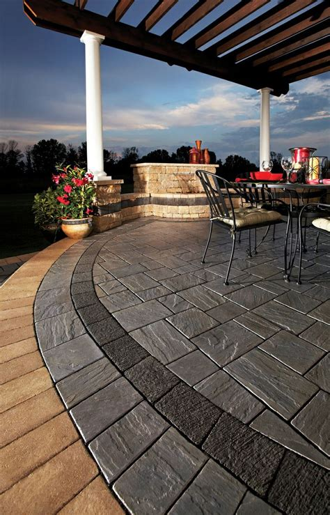 unilock richcliff 51 best images about unilock pavers wallstone on