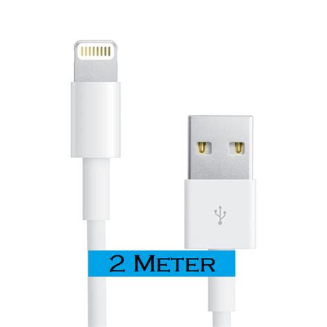 Kabel Data Iphone 6 Kw iphone 5 iphone 6 kabel kabel 2 meter accessoires