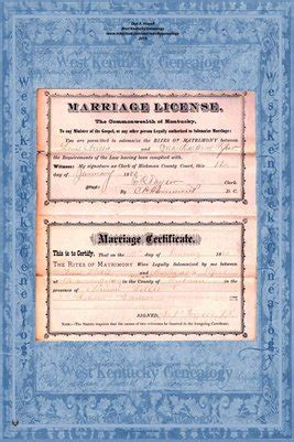 Kent Marriage Records Hickman County Kent 1880 Marriage Records Lewis
