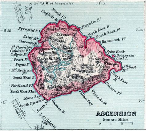 ascension island map humanity s journey to day 160 is ascension actually