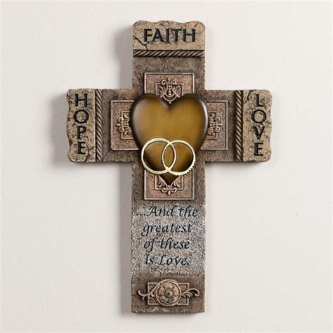 Wedding Bible Sale by Faith And Marriage Cross 10 5 Inch The
