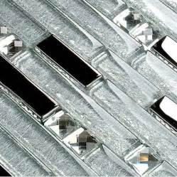 interlocking mosaic tile backsplash glass