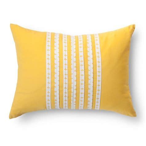 bond decorative pillow yellow 16 quot target