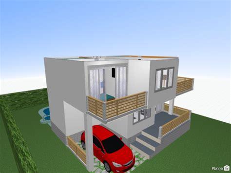casa moderna   design  house floor plans