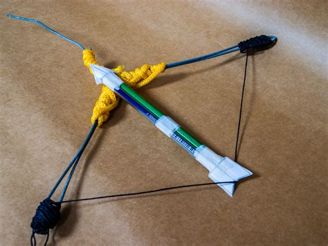 How To Make A Bow Arrow Out Of Paper -