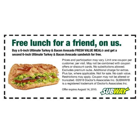 printable subway coupons november 2017 subway coupons text 2017
