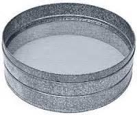 Saringan Stainless Diameter 7 Cm studio keramik smk n 14 bandung peralatan keramik