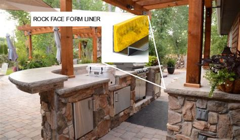 do it yourself outdoor kitchens kits construct your own outdoor kitchen with concrete