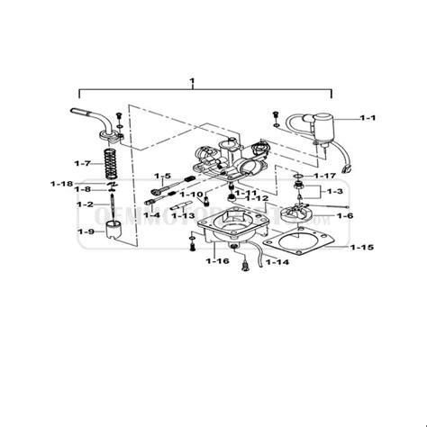 Carburator Assy Vario china scooter tgb delivery bk1 b carburator parts
