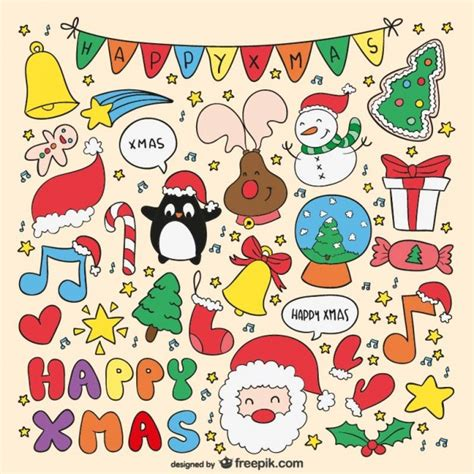 imagenes de navidad para imprimir a color dibujos de navidad a color descargar vectores gratis