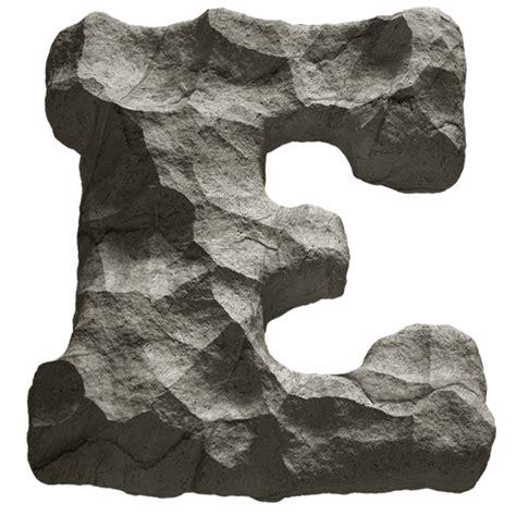 Rok Letter A Resleting Size Xxxxl rock font handmadefont
