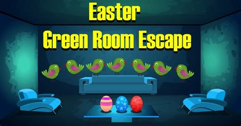 Easter Living Room Escape Walkthrough 8b Easter Green Room Escape Walkthrough