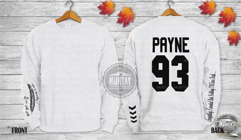 liam payne tattoo sweater liam payne tattoos one direction 1d crewneck sweatshirt
