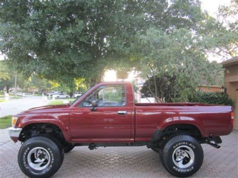 1990 Toyota Tacoma Find New 1990 Toyota Tacoma 4x4 6cly 5 Speed Alloy Wheels