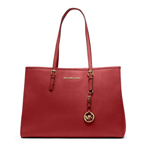 Michael Kors Jet Set Travel michael kors jet set travel saffiano leather tote in