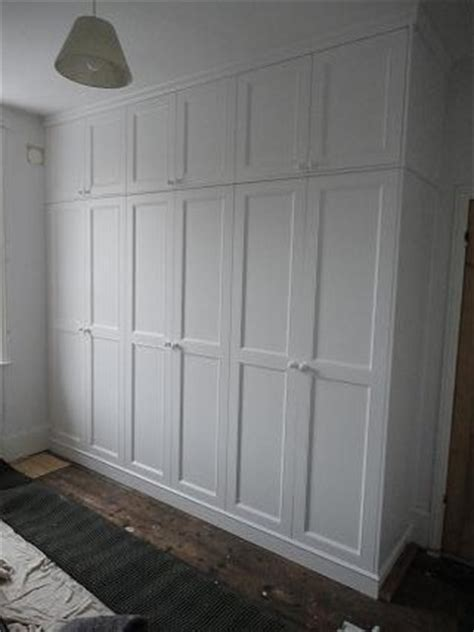 white spray painted wardrobe floor to ceiling 171 the sussex