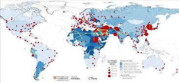 World Conflict Map by Planning For War A Guide For Businesses