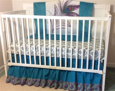 Peacock Baby Bedding Sets 17 Best Images About Peacock Nursery On Pinterest Peacocks Floral Patterns And Baby Crib