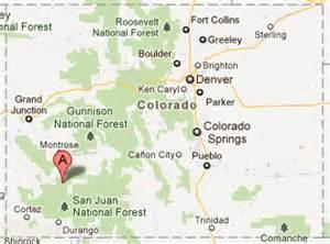 where is telluride colorado on a map telluride ski resort colorado ski areas