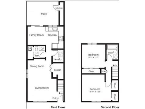 Whidbey House Plans Nas Whidbey Island Whidbey Apartments Neighborhood 2 Bedroom Apartment Floor Plan Nas
