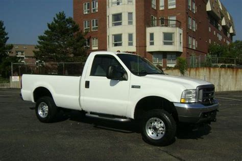 how it works cars 2004 ford f250 on board diagnostic system buy used 2004 ford f250 xl single cab pickup 4x4 fisher plow setup needs work no reserve in
