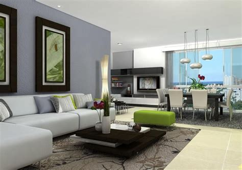 salas modernas al estilo feng shui decorando salas
