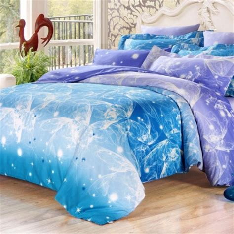 teal full size comforter teal green white and purple fatastic galaxy scene funky