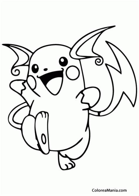 pokemon coloring pages lapras colorear raichu contento pokemon dibujo para colorear
