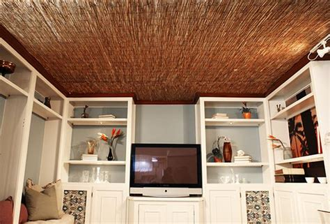 House Reed by Diy Reed Fence Ceiling P G Everyday P G Everyday