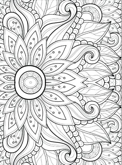 coloring pages pdf design coloring pages to print free printable pattern