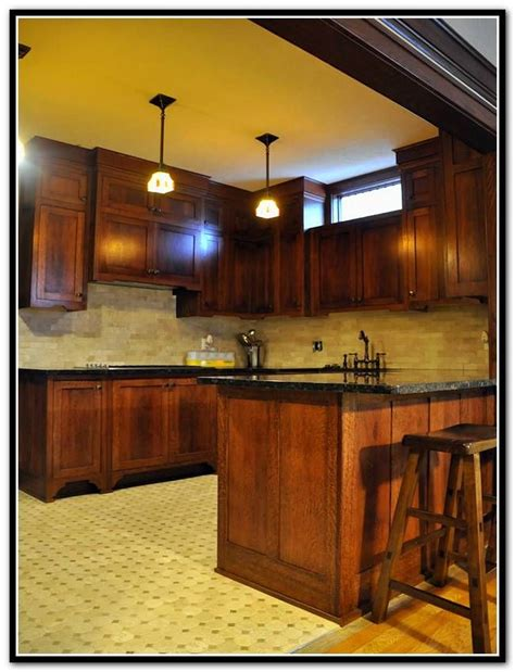 mission style kitchen cabinets quarter sawn oak 17 best ideas about mission style kitchens on
