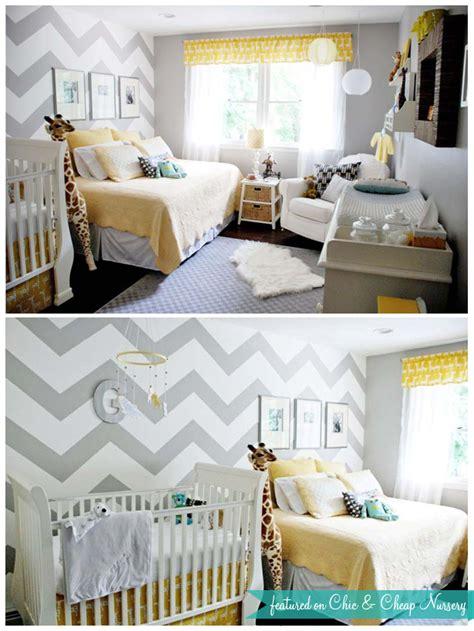 Custom Nursery Art By Kimberly Missoni Inspired Zig Zag Bed And Crib In Same Room