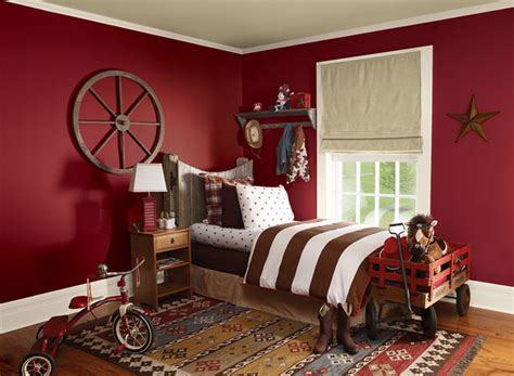 red bedroom color schemes interior paint ideas and inspiration pomegranates