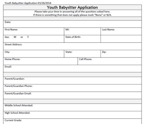 safety youth application and