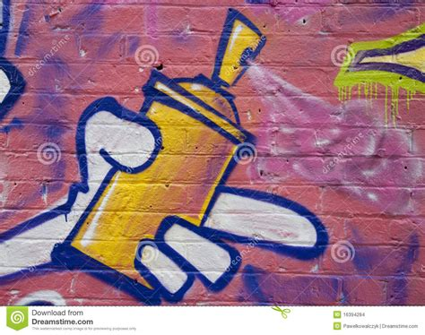 graffiti can graffiti spray can in stock images image 16394284