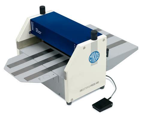 die cutting machines for card cyklos c press 440 die cutting press