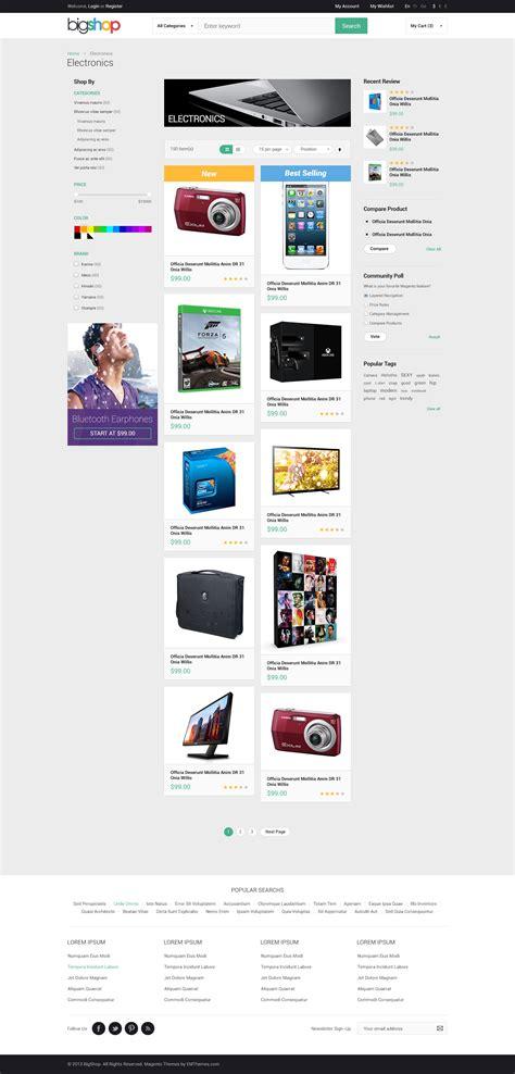 magento layout remove menu responsive magento theme gala bigshop by tvlgiao