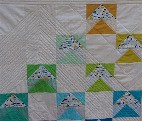 quilt pattern flying geese variation modern flying geese completed quilts using 3 of 5