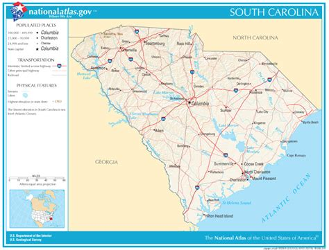 map carolina highways south carolina state maps interactive south carolina