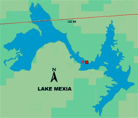 map of mexia texas lake mexia access