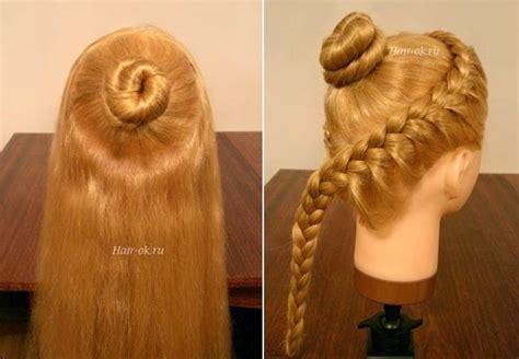 diy hairstyles curls diy elegant hairstyle with braids and curls