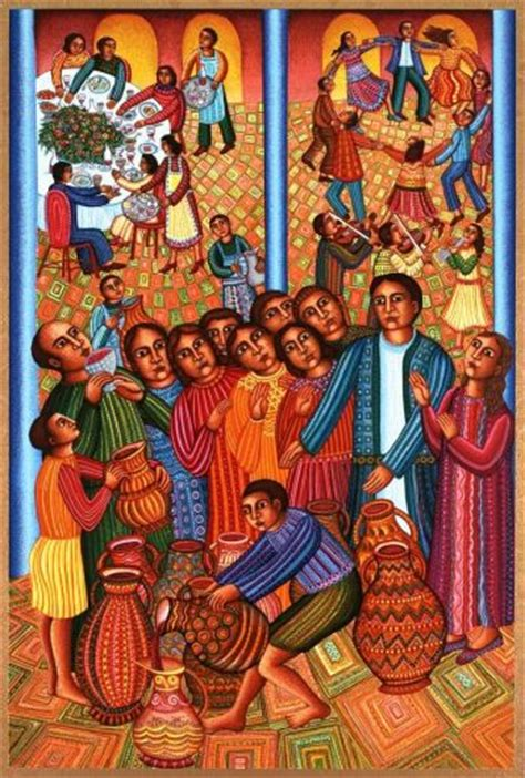 Wedding Feast At Cana In Matthew by Weddings In The Bible